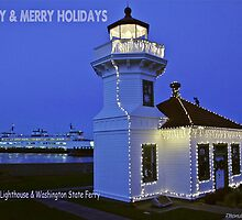 Mukilteo Christmas by Rhonda R Clements