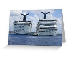 Carnival Cruiselines Greeting Card