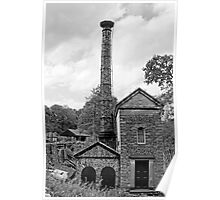 The Leawood Pump House at Cromford                   Poster