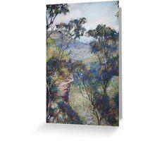 Leura - Prince Henry cliff walk Greeting Card