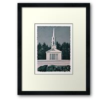 Martha Mary Chapel by Longfellow's Wayside Inn Framed Print