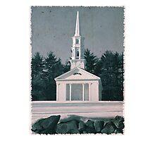 Martha Mary Chapel by Longfellow's Wayside Inn Photographic Print