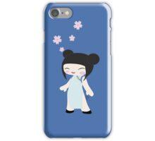 Kawaii girl-China iPhone Case/Skin