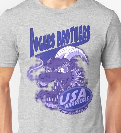 usa warriors chinatown by rogers bros Unisex T-Shirt