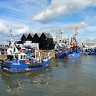 Whitstable Harbour by mikebov