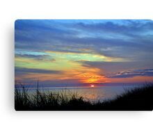 Sunsets 11 Canvas Print