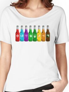 Perks all lined up Women's Relaxed Fit T-Shirt