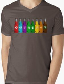 Perks all lined up Mens V-Neck T-Shirt