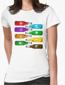 All the perks Womens Fitted T-Shirt
