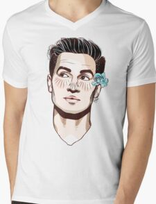 Beebo + Flower Mens V-Neck T-Shirt