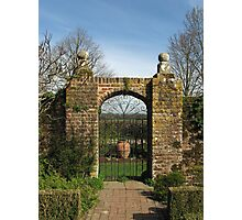 Arched Gate Photographic Print