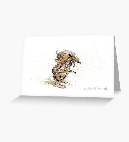 A Stinky Goblin Greeting Card