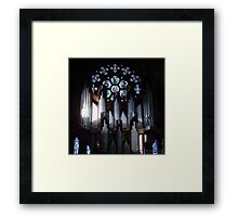 Stained Framed Print