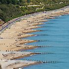Eastbourne Beach by Sue Robinson