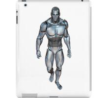 Robotic man walking iPad Case/Skin