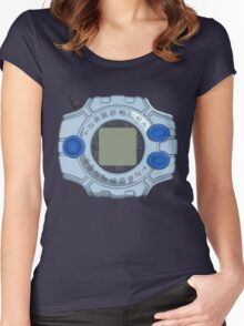 Digivice (Digimon Adventure Tri.) Women's Fitted Scoop T-Shirt