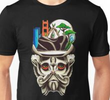 Civilization meets the tree line Unisex T-Shirt