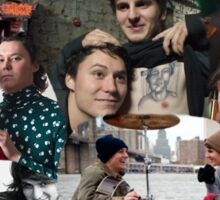 The Front Bottoms Collage  Sticker