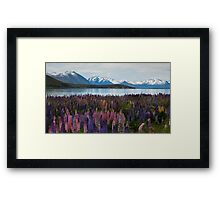 Lake of Serenity Framed Print