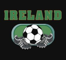 Ireland Soccer by HolidayT-Shirts