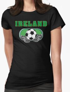 Ireland Soccer Womens Fitted T-Shirt