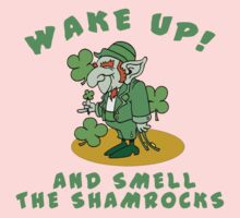Funny Shamrocks Kids Clothes