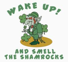 Funny Shamrocks by HolidayT-Shirts