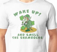 Funny Shamrocks Unisex T-Shirt