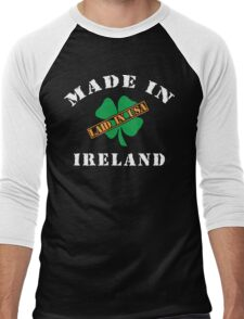 Made In Ireland Laided In The USA Men's Baseball ¾ T-Shirt