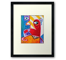 'DISLOCATED & ALIENATED'  Framed Print