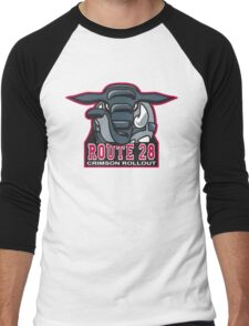 Route 28 Crimson Rollout Men's Baseball ¾ T-Shirt