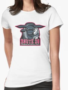 Route 28 Crimson Rollout Womens Fitted T-Shirt