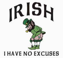 Funny Irish by HolidayT-Shirts