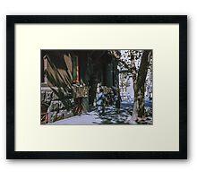 Collins St Melbourne 19611012 0009 Framed Print