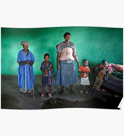 Zulu Family Poster