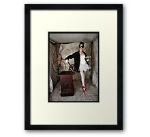 tricycle tales Framed Print