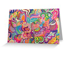 Bold and Bright Greeting Card