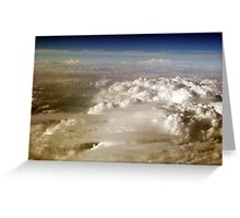 Far Above The Clouds I Greeting Card