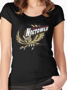 Route 43 Noctowls Women's Fitted Scoop T-Shirt