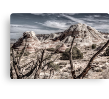 White Pocket Rock Canvas Print