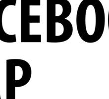Coffee Facebook Nap Repeat Sticker