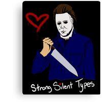 Horror Boyfriends- Michael Myers Canvas Print