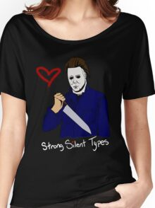 Horror Boyfriends- Michael Myers Women's Relaxed Fit T-Shirt