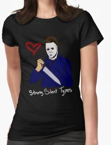 Strong Silent Types Michael Myers T-shirt