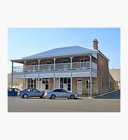 An old restored building in Fitzroy Street , Warwick,  QLD Photographic Print