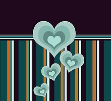 Hearts and Patterns by Winterrr