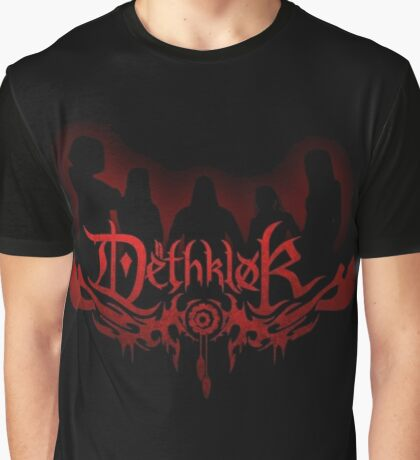 Heavy metal band shadow Graphic T-Shirt