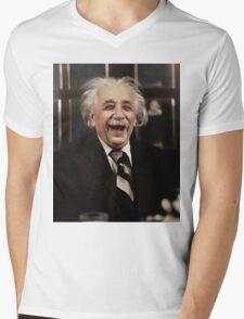 Albert Einstein  Mens V-Neck T-Shirt