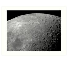 In Lunar Orbit Art Print