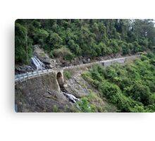 Waterfall Way Canvas Print